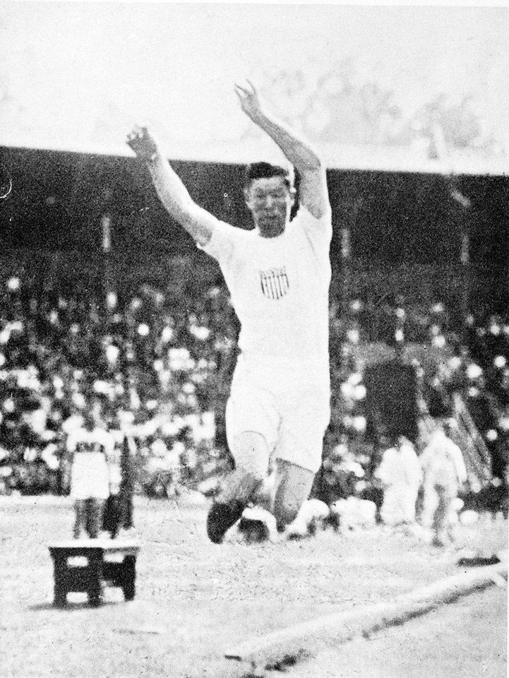 Photo - Jim Thorpe at the 1912 Olympics. PHOTO PROVIDED