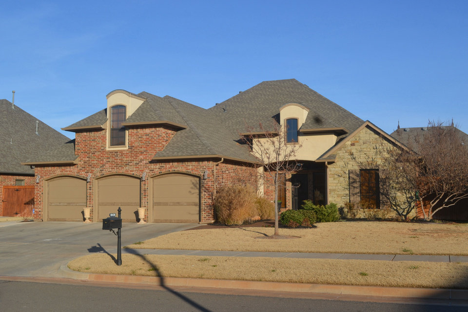 Photo - Linda Finch of Paradigm AdvantEdge Real Estate has this 2,880-square-foot home at 16428 Grace Ann Court in northwest Oklahoma City listed for $340,000.   - Provided
