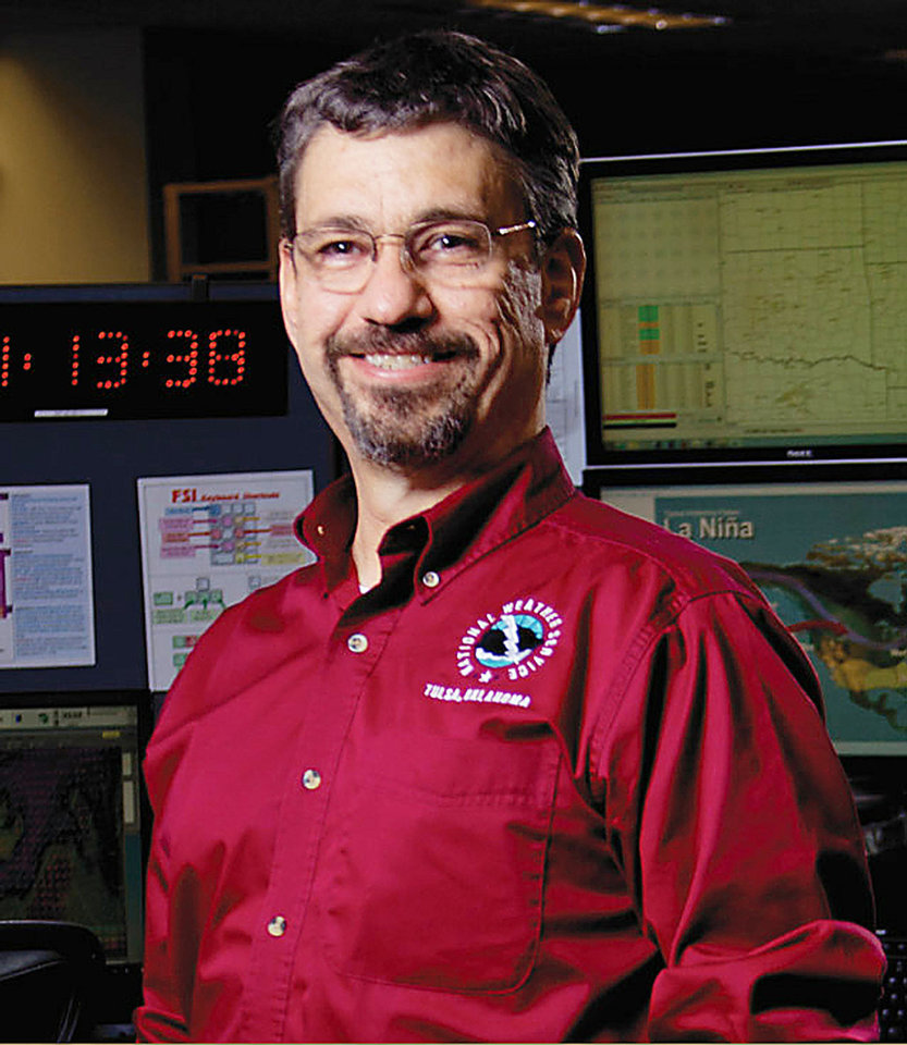 Photo - Steven Piltz, meteorologist in charge, National Weather Service, Tulsa Forecast Office. Photo Provided  Photo Provided - Photo Provided