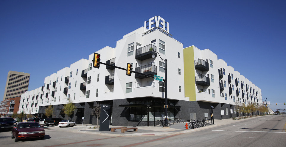 Photo - Native Roots Market is shown at the Level Urban Apartments, NE 2 and Walnut .
