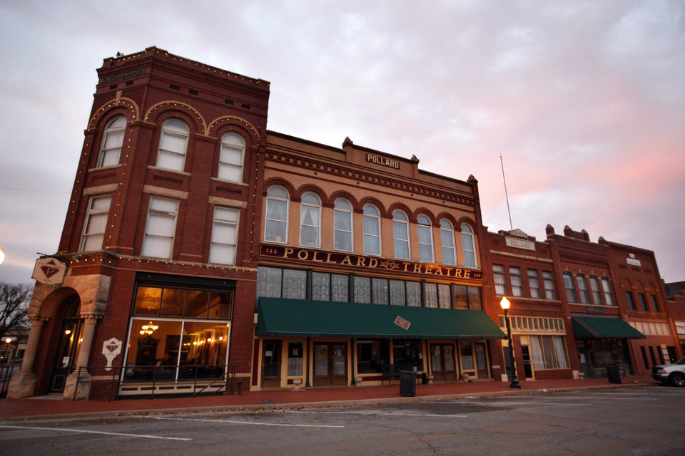 The Pollard Theatre is pictured in Guthrie, Okla.,  Sunday, Nov. 20, 2011.  Photo by Sarah Phipps, The Oklahoman