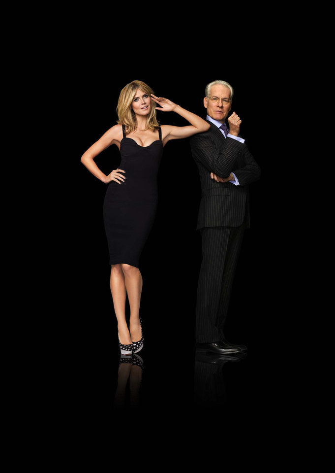 Heidi Klum and Tim Gunn are judges on �Project Runway,� which returns for its 10th season at 8 p.m.Thursday on Lifetime. Lifetime photo