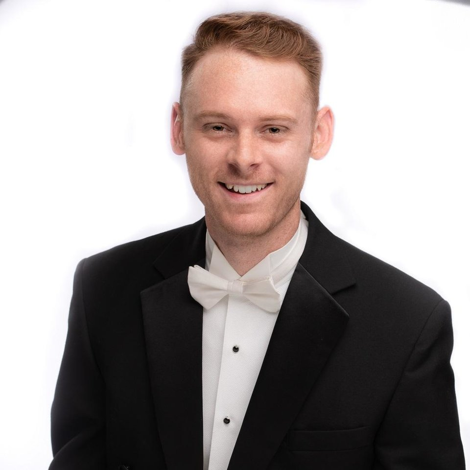 Photo - Patrick Womack plays percussion for the Oklahoma City Philharmonic. [Photo provided]