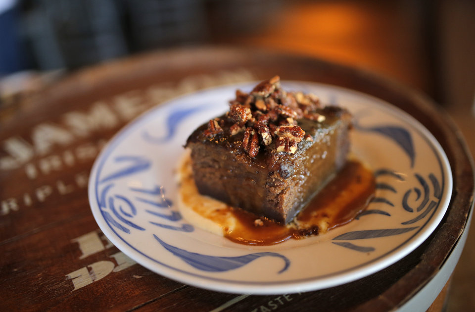 Photo - Whiskey cake is pictured at the Whiskey Cake Kitchen and Bar in Oklahoma City, Thursday, July 3, 2014. Photo by Sarah Phipps, The Oklahoman