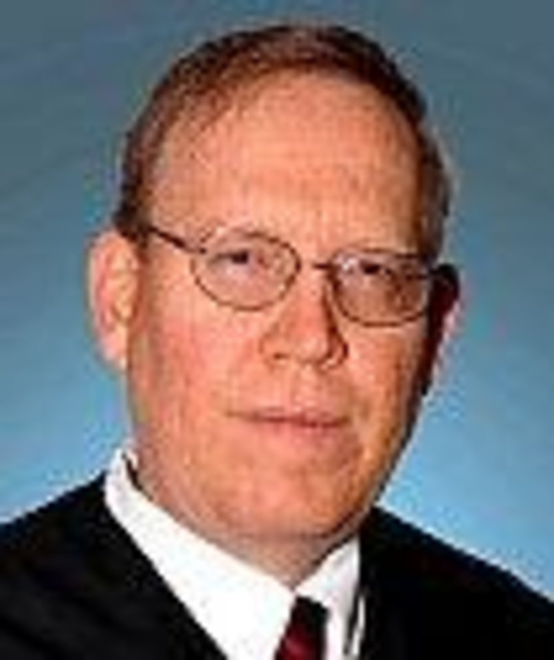 Photo - Caddo County Special Judge David A. Stephens