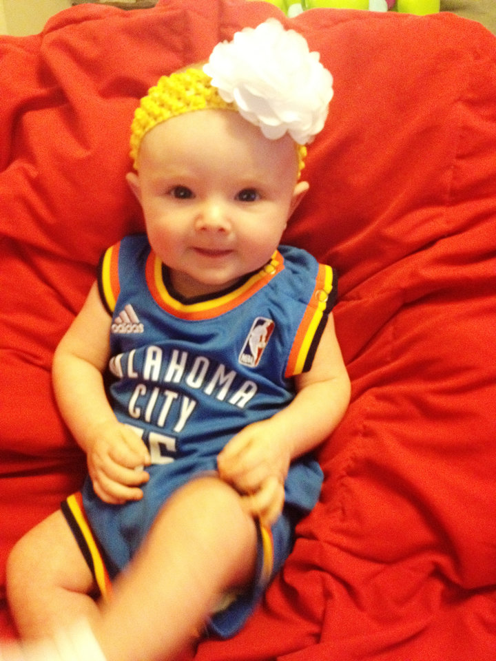 Our little Thunder fan