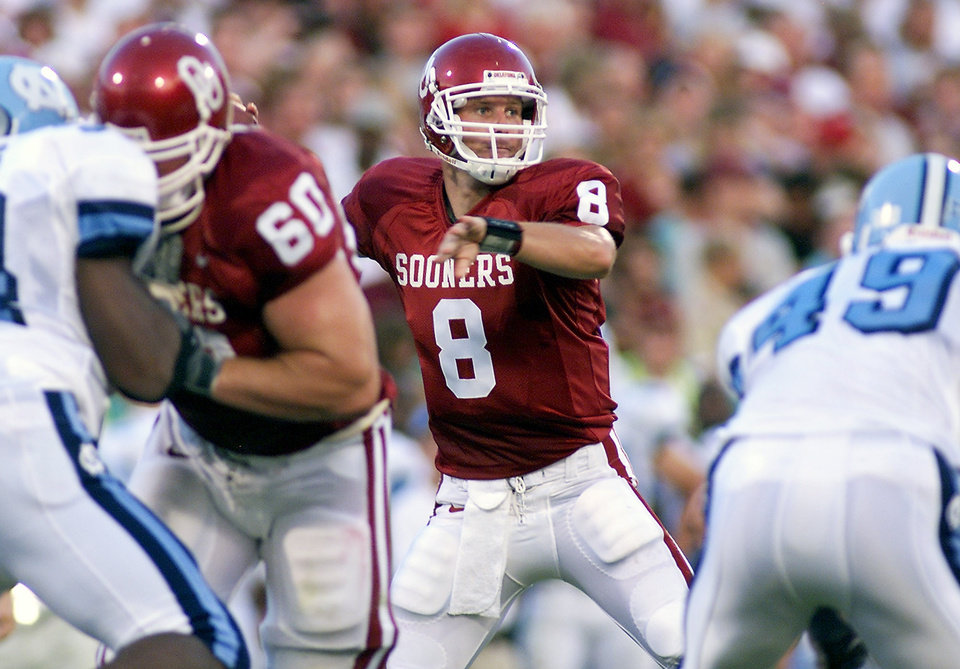 Former OU quarterback Nate Hybl took his share of blame for Sooner loses. Photo by Doug Hoke, the Oklahoman Archives