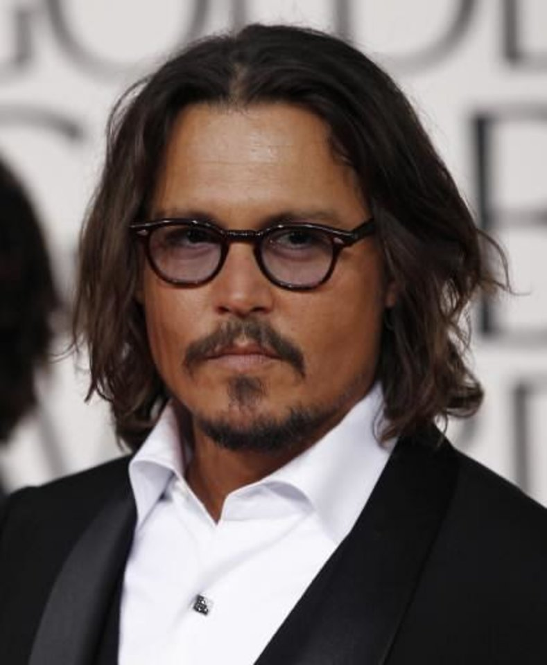 Johnny Depp (AP file)