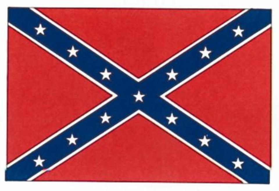 1861 Confederate Battle Flag