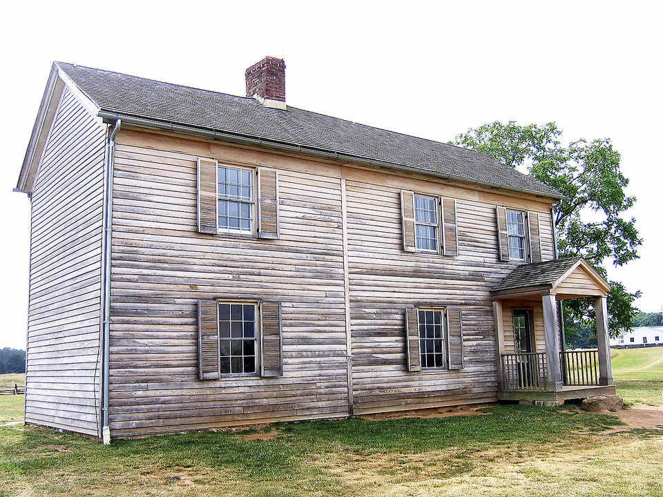 Photo - The Henry House, a Civil War-era homestead on the grounds of the Manassas National Battlefield Park. PHOTO BY RICK ROGERS, THE OKLAHOMAN