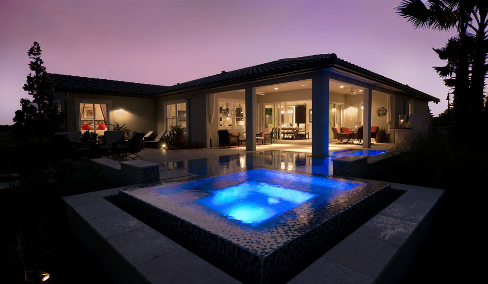 Few Millenials can say they have an outdoor feature like this: A pool and spa to be the envy of friends and family. The features are part of the Generation Y Concept House at the recent International Builders Show in Orlando, Fla. James F. Wilson - PROVIDED BY JAMES F. WILSON/BUIL