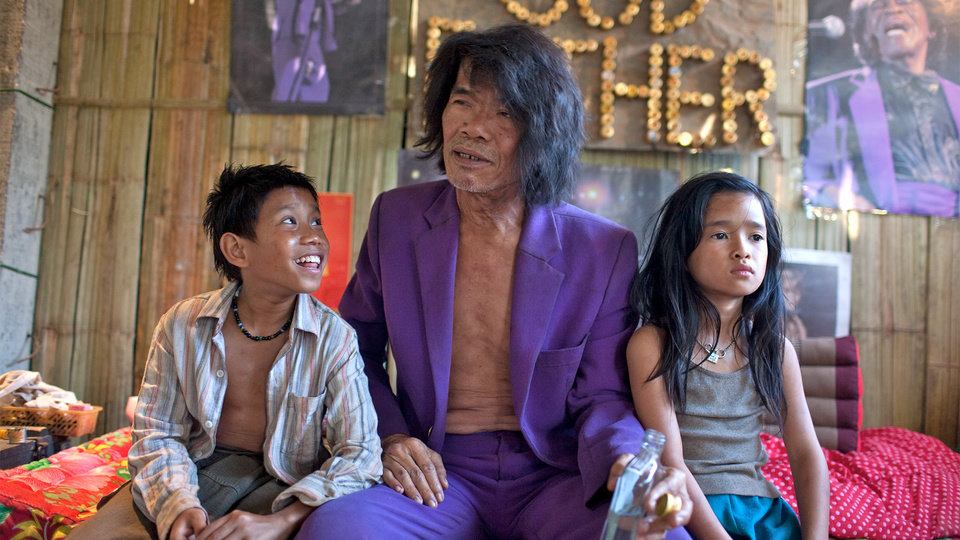 "This undated publicity image released by the TriBeca Film Festival shows Sitthiphon Disamoe as Ahlo, left, Thep Phongam as Purple, and  Loungnam Kaosainam as Kia in a scene from ""The Rocket,"" a film competing in the Tribeca Film Festival. The Laos adventure �The Rocket� and the Afghanistan War documentary �The Kill Team� have taken top honors at the Tribeca Film Festival on Thursday, April 25, 2013. (AP Photo/Tribeca Film Festival, Tom Greenwood)"
