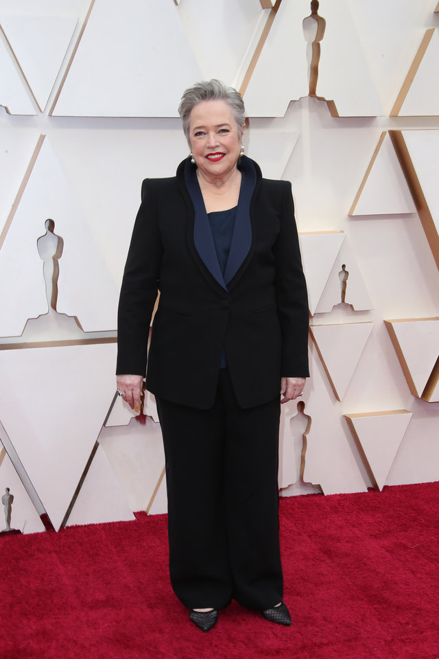 Photo - Feb 9, 2020; Los Angeles, CA, USA;  Kathy Bates arrives at the 92nd Academy Awards at Dolby Theatre. Mandatory Credit: Dan MacMedan-USA TODAY