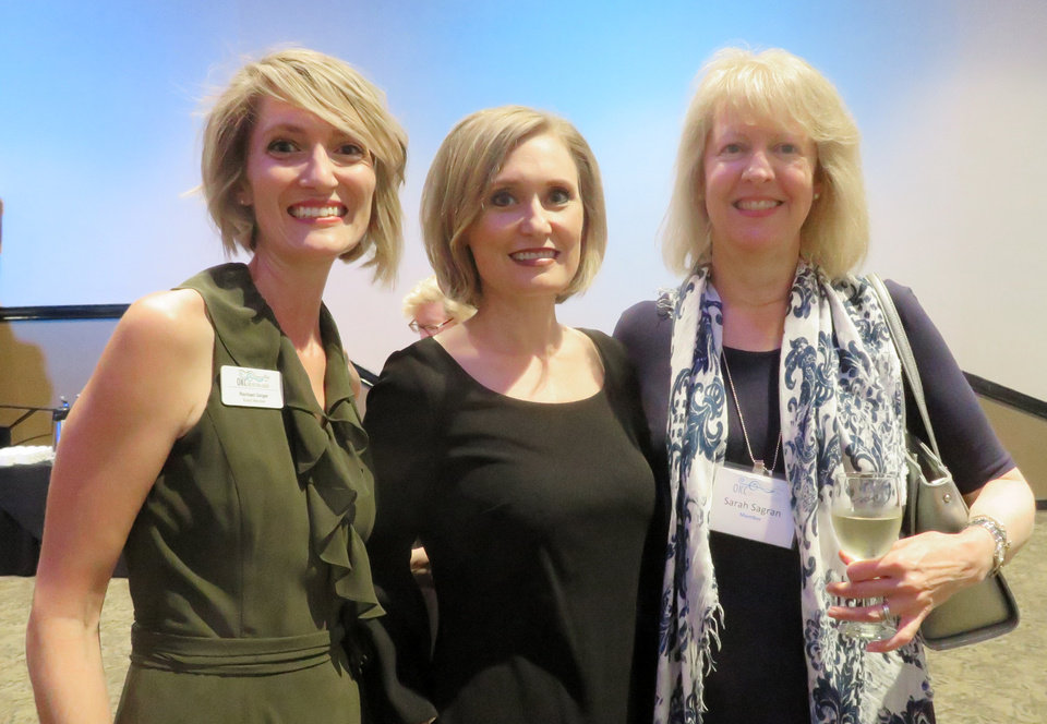 Photo - Rachael Geiger, Lisa Reed and Sarah Sagran. PHOTO PROVIDED