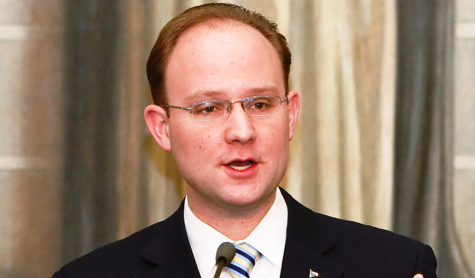 Photo - Oklahoma House minority leader Scott Inman, D-Del City, (AP FILE Photo/Alonzo Adams)