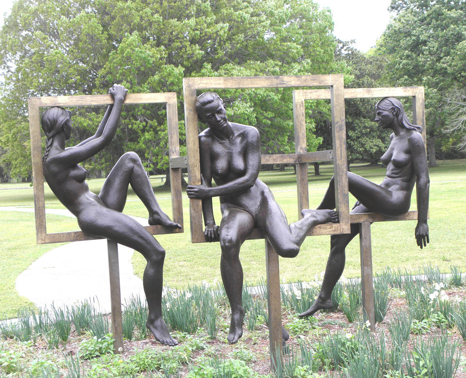Photo -  Brookgreen Plantation in South Carolina has the largest collection of American representational sculpture anywhere in the world.