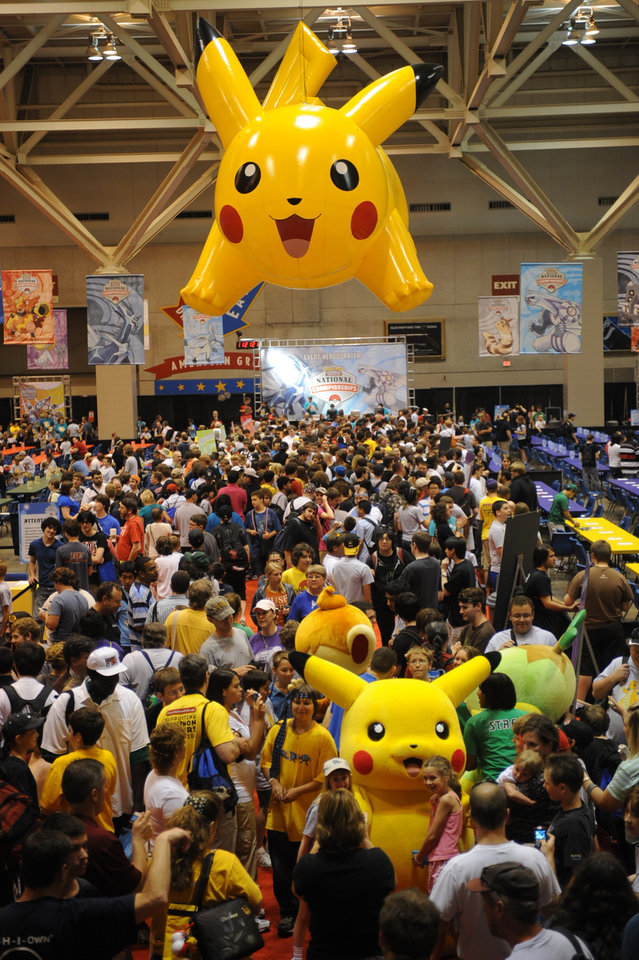 Photo -  The 2009 Pokemon national championships in St. Louis.