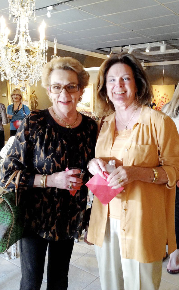 Photo - E1. Barbara Beeler, Rusanne Solomon. PHOTO PROVIDED