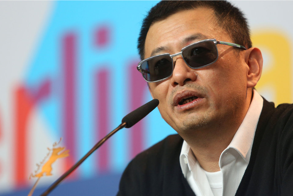 Jury president Wong Kar Wai speaks to reporters during the jury press conference at the 63rd edition of the Berlinale, International Film Festival in Berlin, Thursday Feb. 7, 2013. (Photo by Joel Ryan/Invision/ AP)