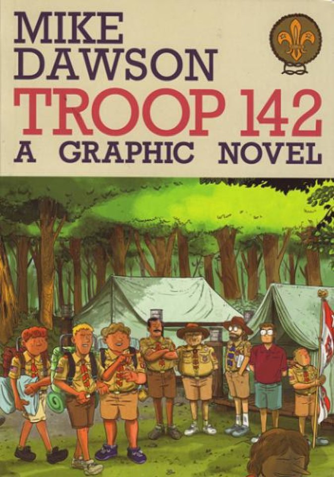 "Mike Dawson's ""Troop 142.""  Secret Acres photo <strong></strong>"