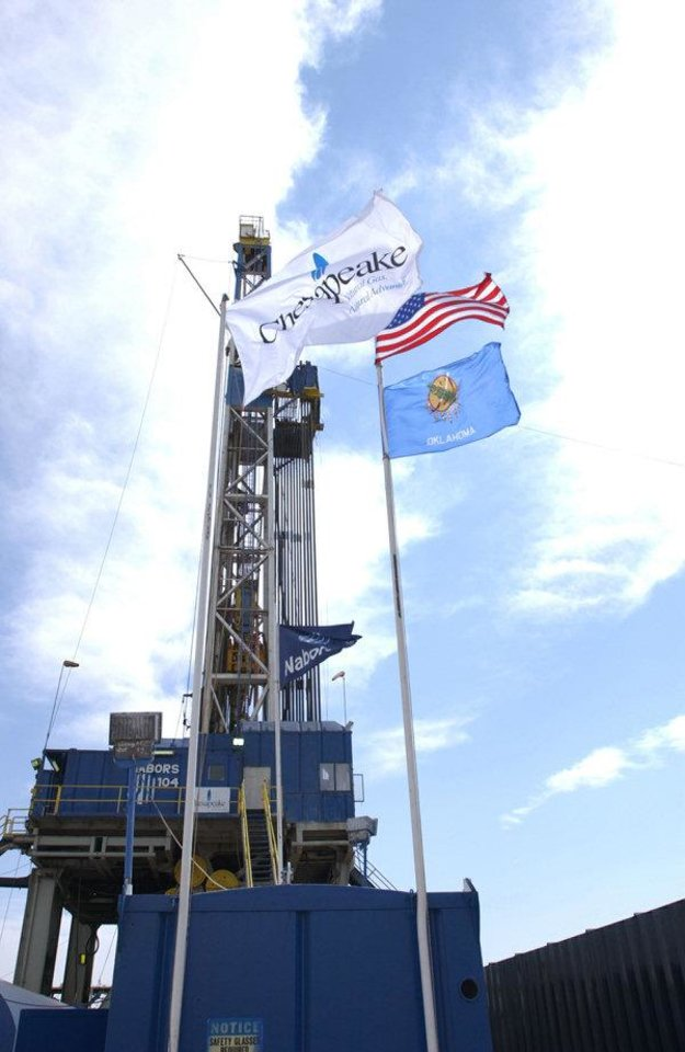 Photo - Chesapeake Energy Corp. is the country's most active driller. The company is selling billions in assets but still plans to operate in 10 of the country's 12 largest oil and natural gas plays.Photo provided