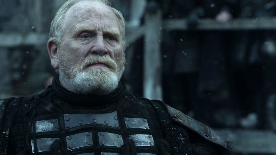 Photo -  Jeor Mormont, may he rest in peace.