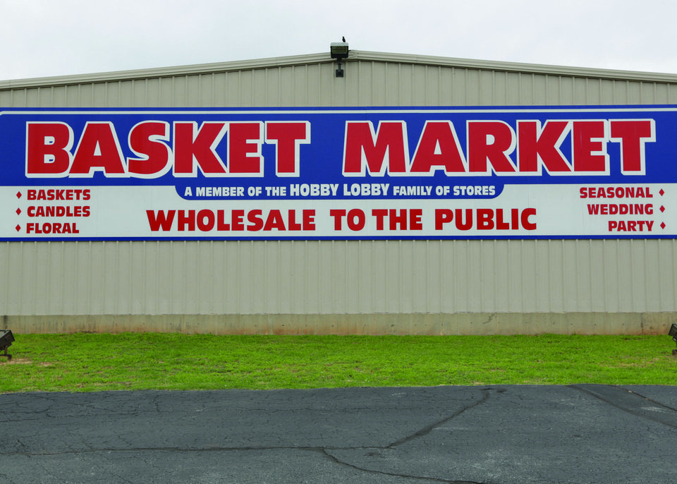 Basket Market at 1501 S Meridan, a Hobby Lobby affiliated company. <strong> - PROVIDED BY HOBBY LOBBY</strong>