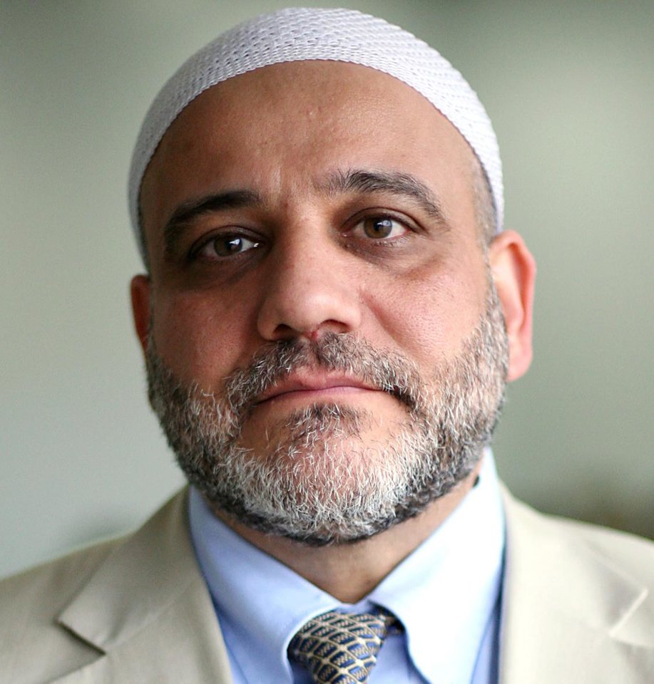 "Photo -  Imad Enchassi, imam and founder of the Islamic Society of Greater Oklahoma City, will serve as a panelist for a discussion titled ""Mental Health and Faith: A Community Dialogue"" at 6:30 p.m. Tuesday at Crossings Community Church at 14600 N Portland Ave. Oklahoman Archive Photo   John Clanton -  The Oklahoman"