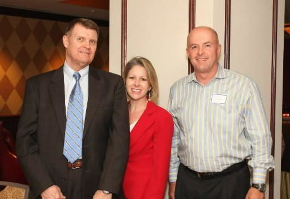 Left: Bob Allen, Lauren White, Doug McQueen. PHOTO BY DAVID FAYTINGER, FOR THE OKLAHOMAN