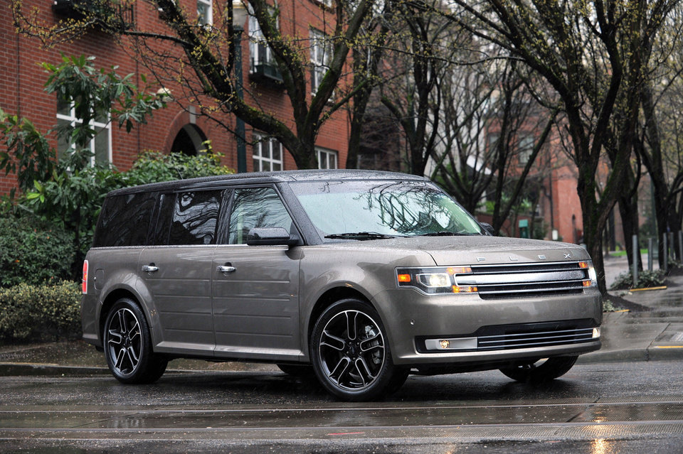 Photo - This March 13, 2012 photo made available by Ford shows the 2013 Ford Flex in Portland, Ore. (AP Photo/Ford)