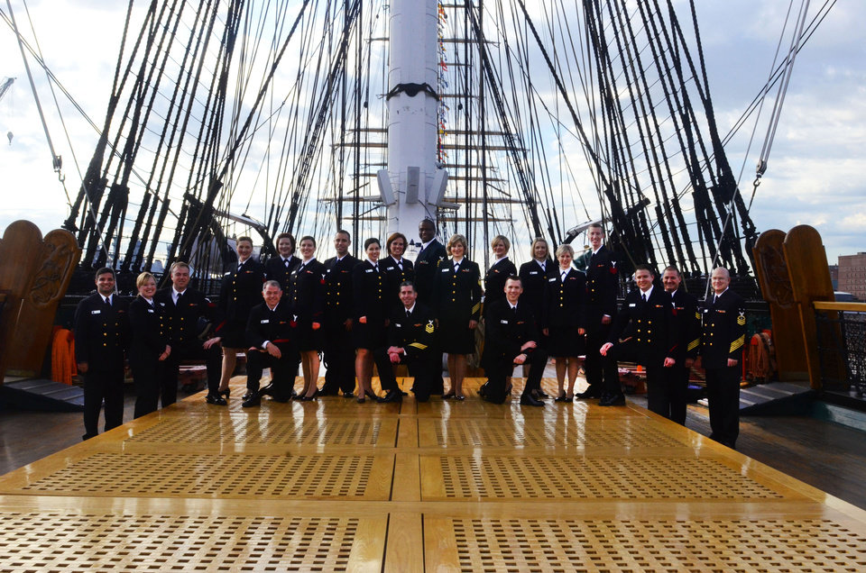 The Sea Chanters, the official chorus of the United States Navy, will perform in March at First Presbyterian Church of Oklahoma City. Photo provided <strong></strong>