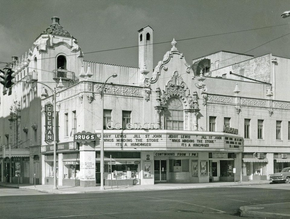 Miami\'s Coleman Theater Photo provided by the Oklahoma History Center Oklahoma History Center
