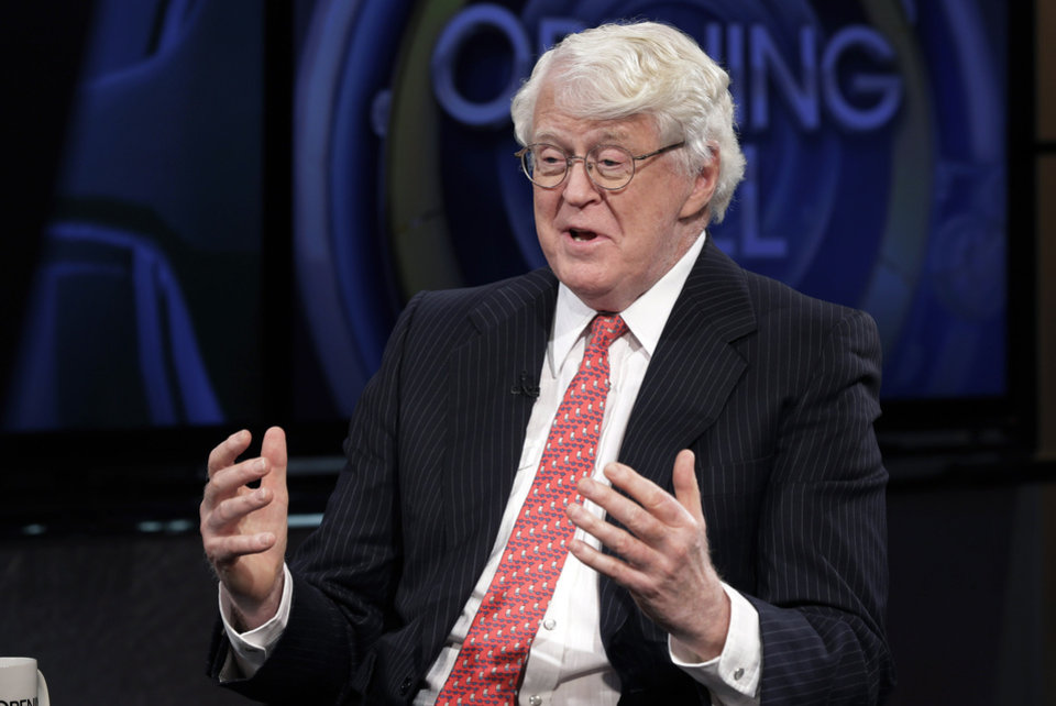 Photo - FILE - This March 4, 2014 file photo shows William Koch, brother of Charles Koch and David Koch interviewed in New York. The Kochs are demonized by Democrats, who lack a liberal equal to counter their weight, and not entirely understood by Republicans, who benefit from their seemingly limitless donations.  (AP Photo/Richard Drew, File)