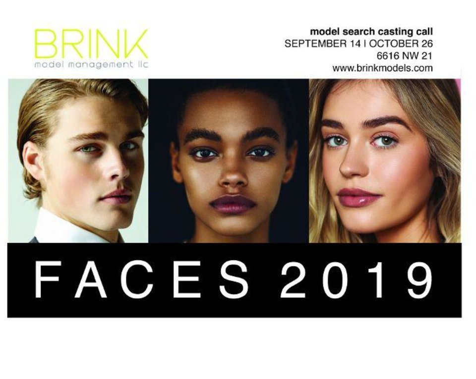 Photo - Brink Model Management is sponsoring a model search and 10-year anniversary event.