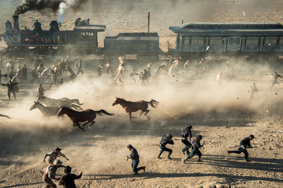 """Photo -  """"THE LONE RANGER""""    Ph: Peter Mountain  ©Disney Enterprises, Inc. and Jerry Bruckheimer Inc.  All Rights Reserved."""