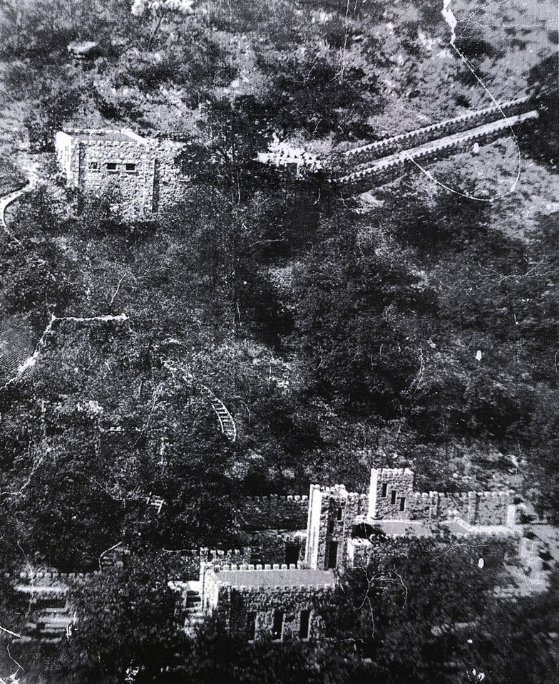 COLLINGS CASTLE / ELLSWORTH COLLINGS: The historic Collings Castle located in Turner Falls Park photo provided by the Davis Museum ORG XMIT: KOD