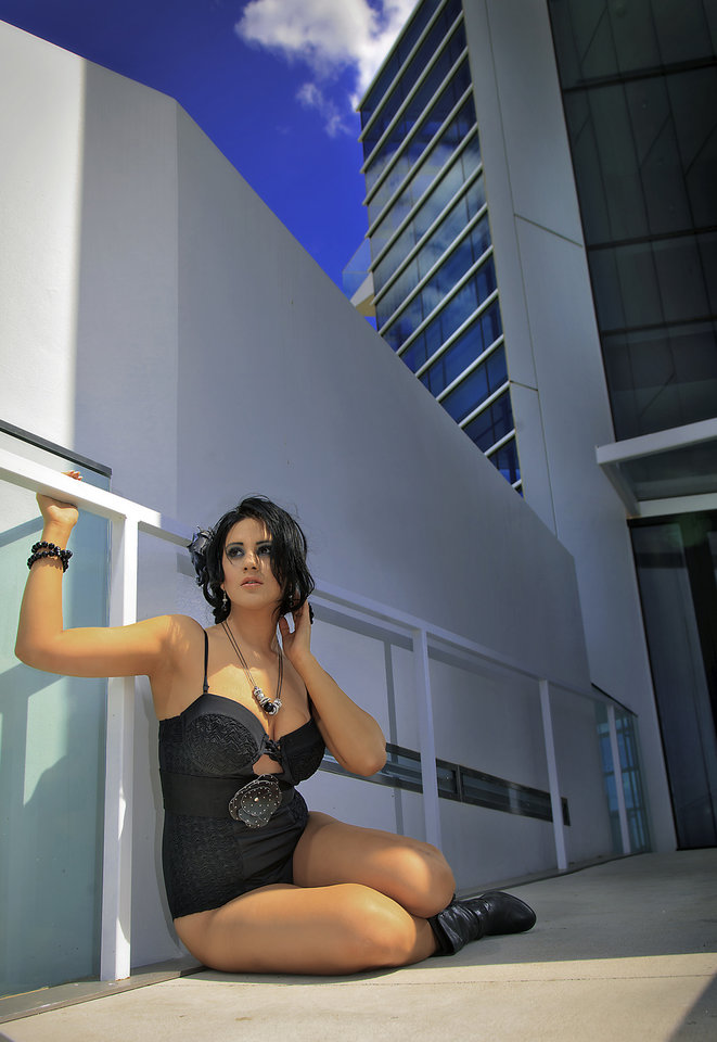 Photo - Boathouse District, Oklahoma City Swimsuit from L.A. Sun & Sport   Vote for your favorite model now