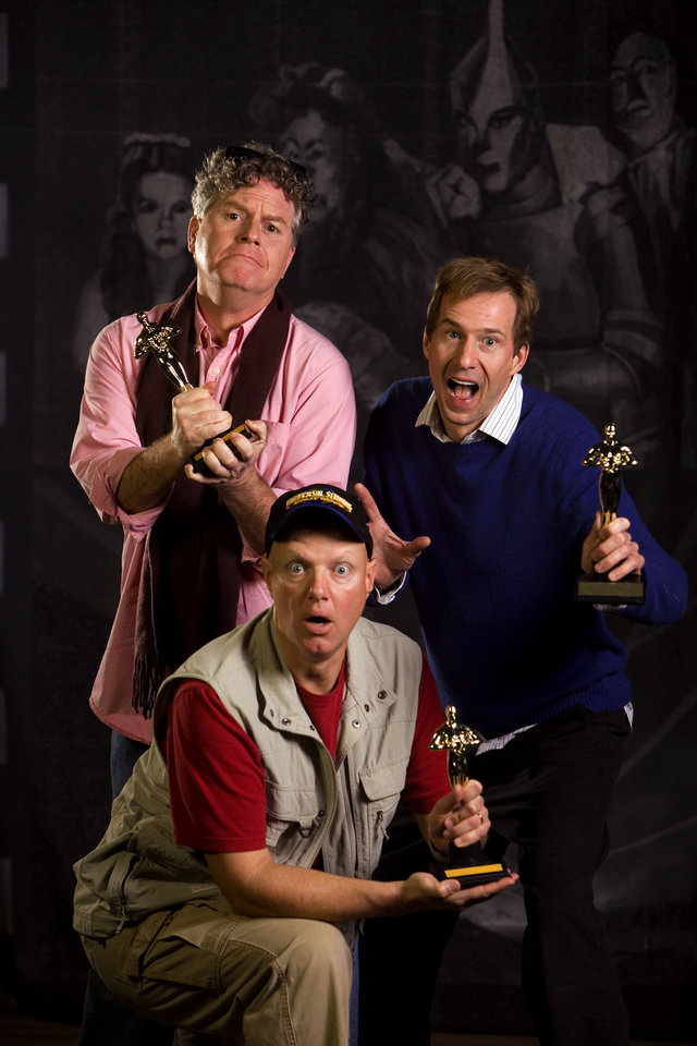 """Photo - The Reduced Shakespeare Company presents """"Completely Hollywood (Abridged)."""" Photo provided by John Burgess"""