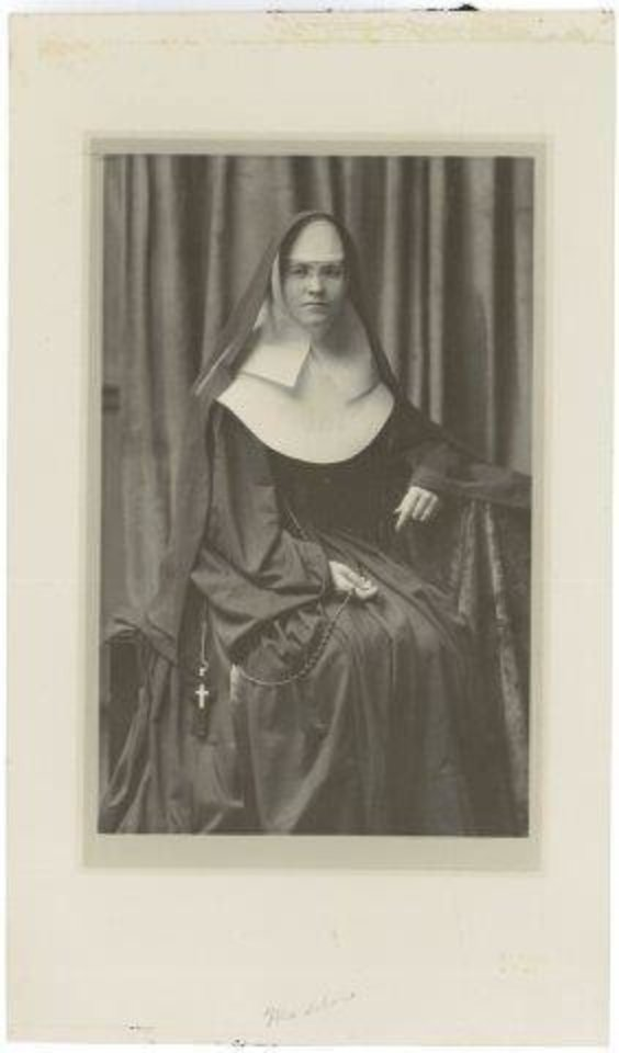 Photo - Sister Mary Madeline Feely was the administrator of the Sisters of Mercy's Mercy General Hospital in 1947. Photo provided by Sisters of Mercy