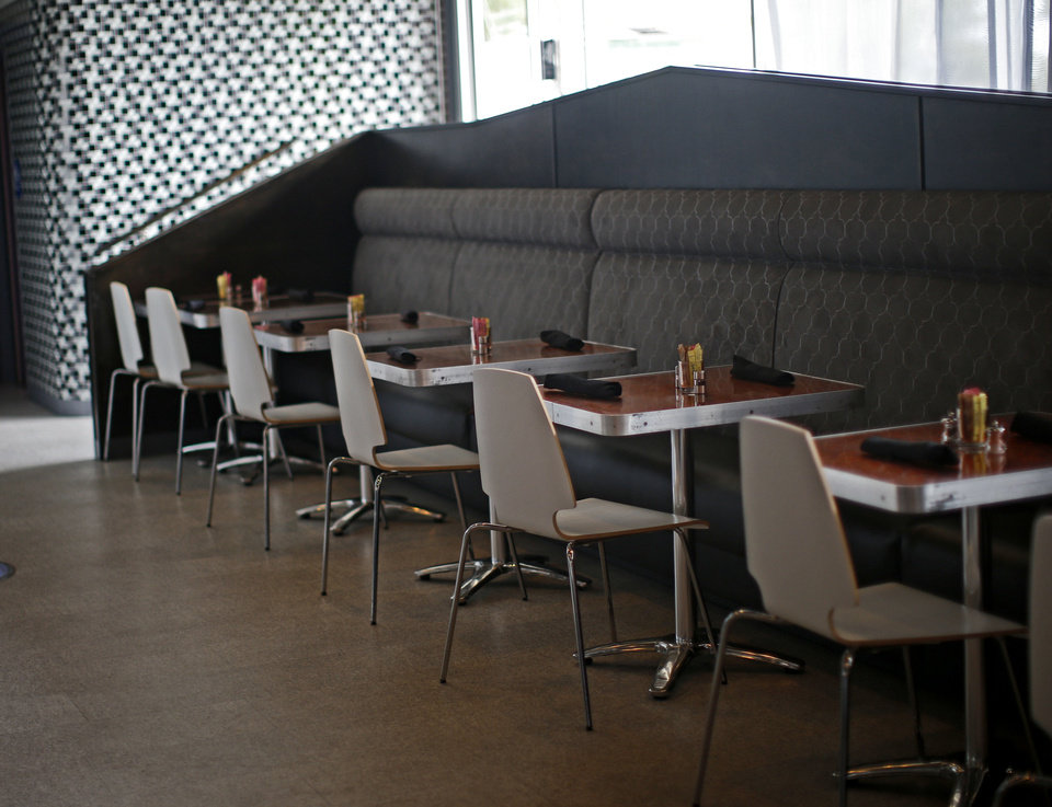 Photo - The Saturn Grill's newest location is in Oklahoma City's Midtown. Photo by Bryan Terry, The Oklahoman  Bryan Terry