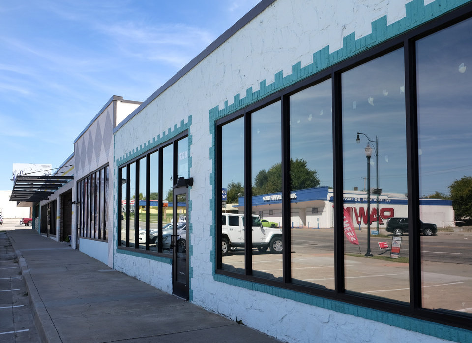 Photo - A group of Black business owners along NE 23 say they are struggling with qualifying for a city assistance program created to soften the economic blow from the ongoing COVID-19 pandemic. Tuesday, September 29, 2020. [Doug Hoke/The Oklahoman]