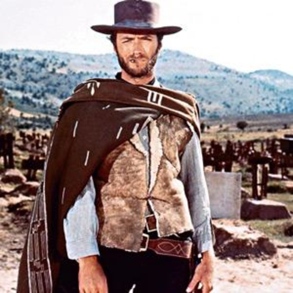 "Photo -  MOVIE / ""THE GOOD, THE BAD AND THE UGLY""  / CLINT EASTWOOD       ORG XMIT: 0909041144251733"