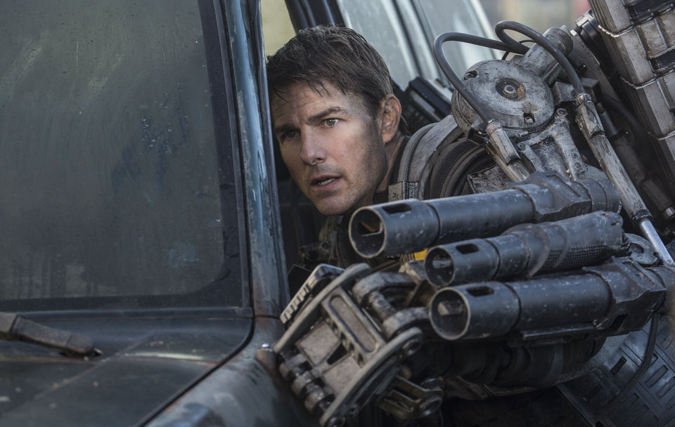 Photo - This image released by Warner Bros. Pictures shows Tom Cruise in a scene from