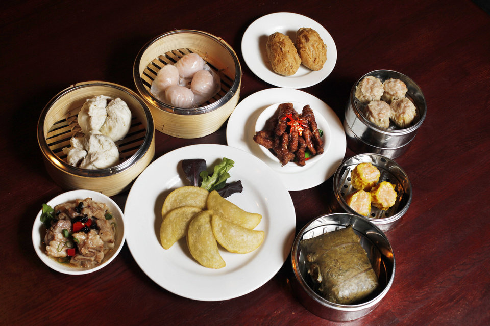 Photo - Dim Sum will be served on Christmas Day at Grand House China Bistro in Oklahoma City. Oklahoman Archive photo  Jaconna Aguirre - The Oklahoman