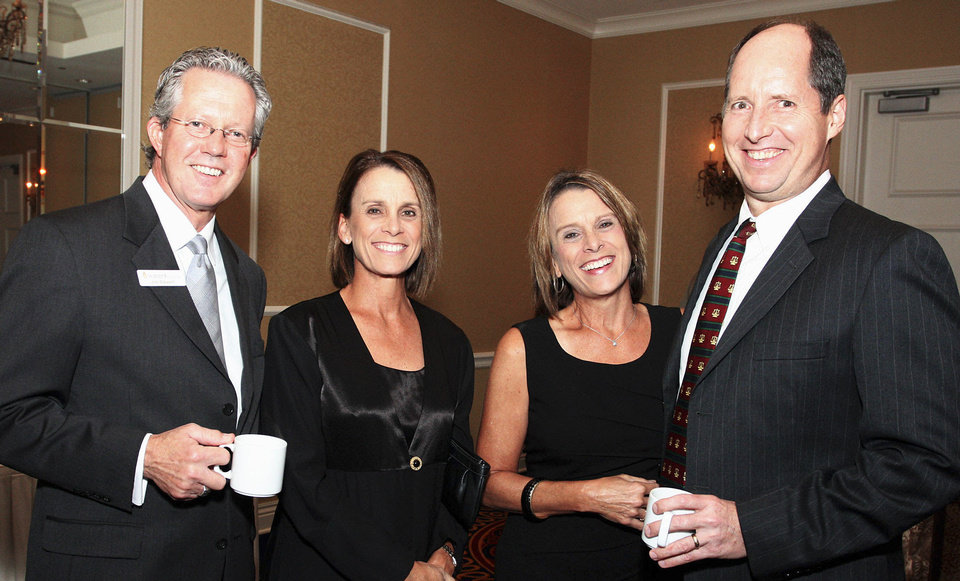 Jim Stewart, Pam McDougal, Kim and Steve Lewis. Photo by David Faytinger__