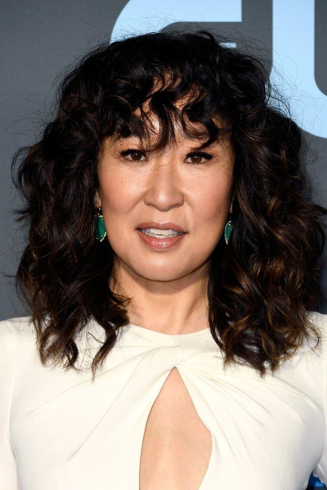 Photo - Actress Sandra Oh at the Critics Choice Awards.