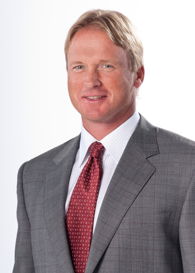 Photo - Wednesday, June 3, 2009 -- New York, N.Y. -- Canali -- ESPN's Monday Night Football analyst Jon Gruden ORG XMIT: 0909242150498182