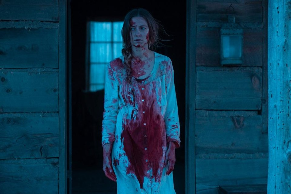 Photo -  Caitlin Gerard stars in the horror Western