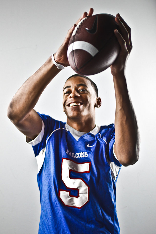 Millwood's Brandon Swindall on Thursday, Dec. 16, 2010, in Oklahoma City, Okla.  Photo by Chris Landsberger, The Oklahoman