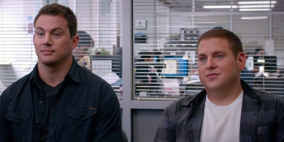 """Photo -  Channing Tatum, left, and Jonah Hill star in Columbia Pictures' """"22 Jump Street."""" AP Photo/Sony Pictures, Glen Wilson"""